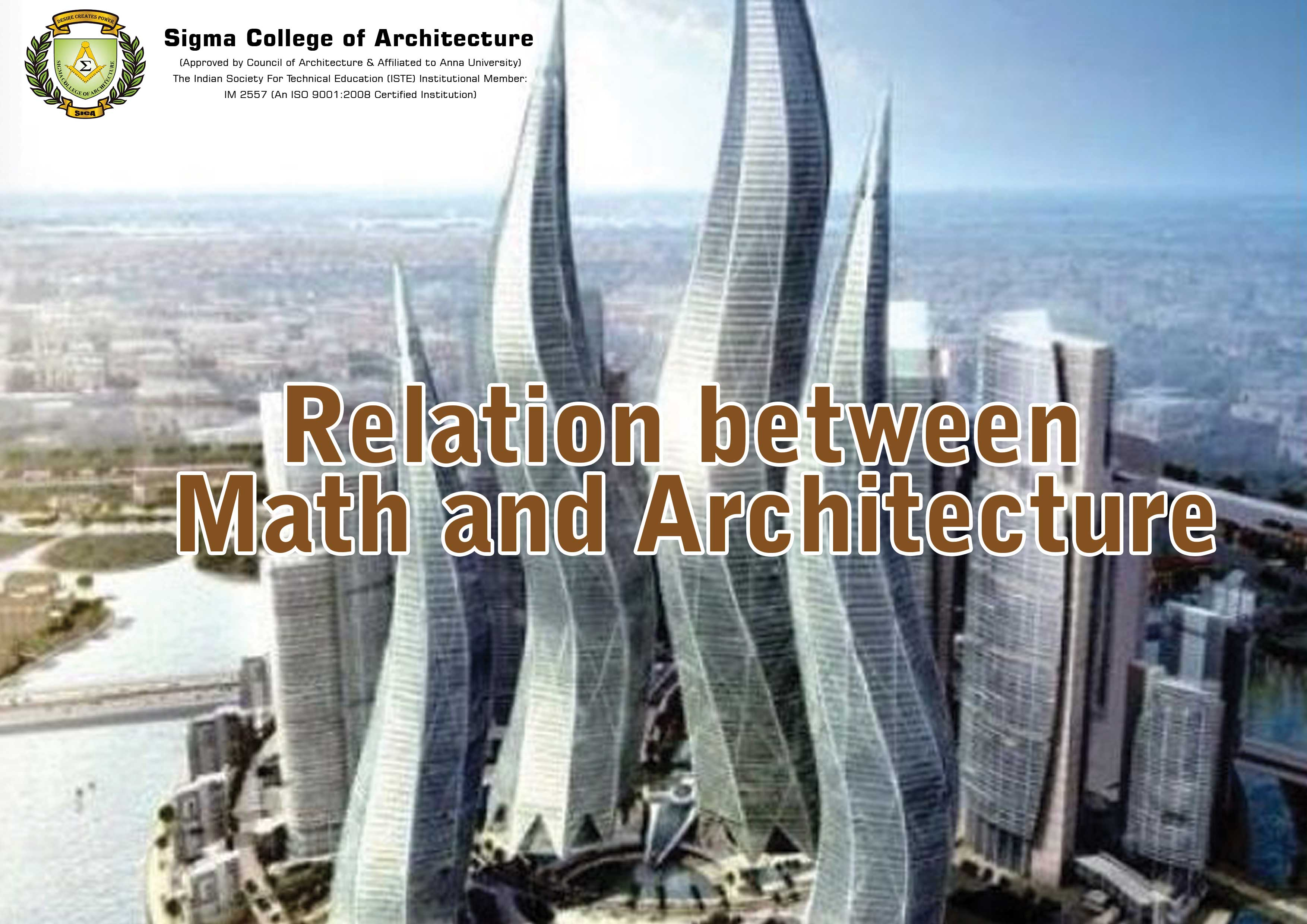 Relation between Math and Architecture
