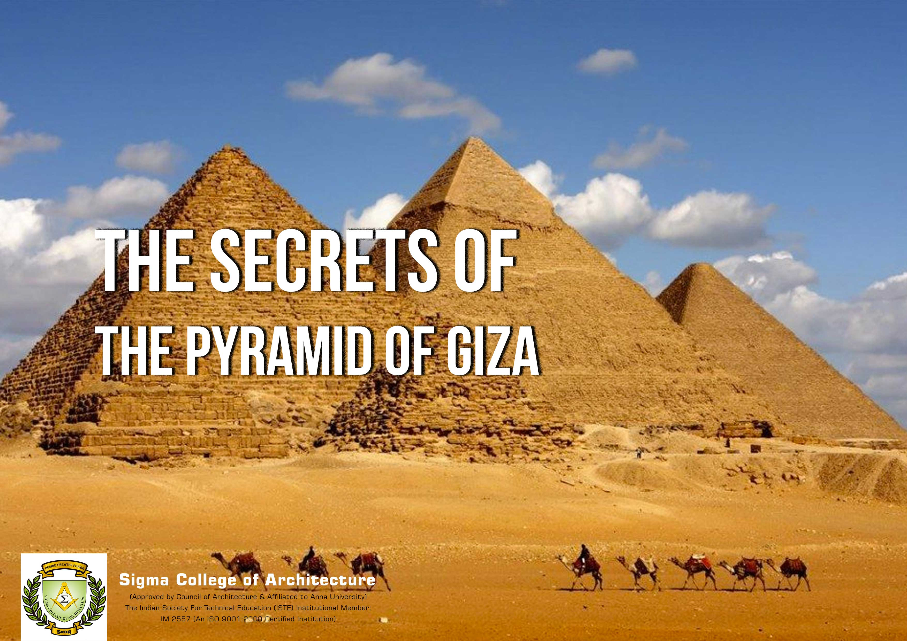 The Secrets of the Pyramid of Giza