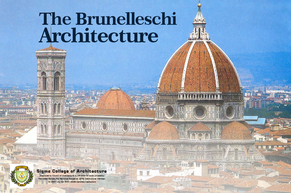 The Brunelleschi Architecture