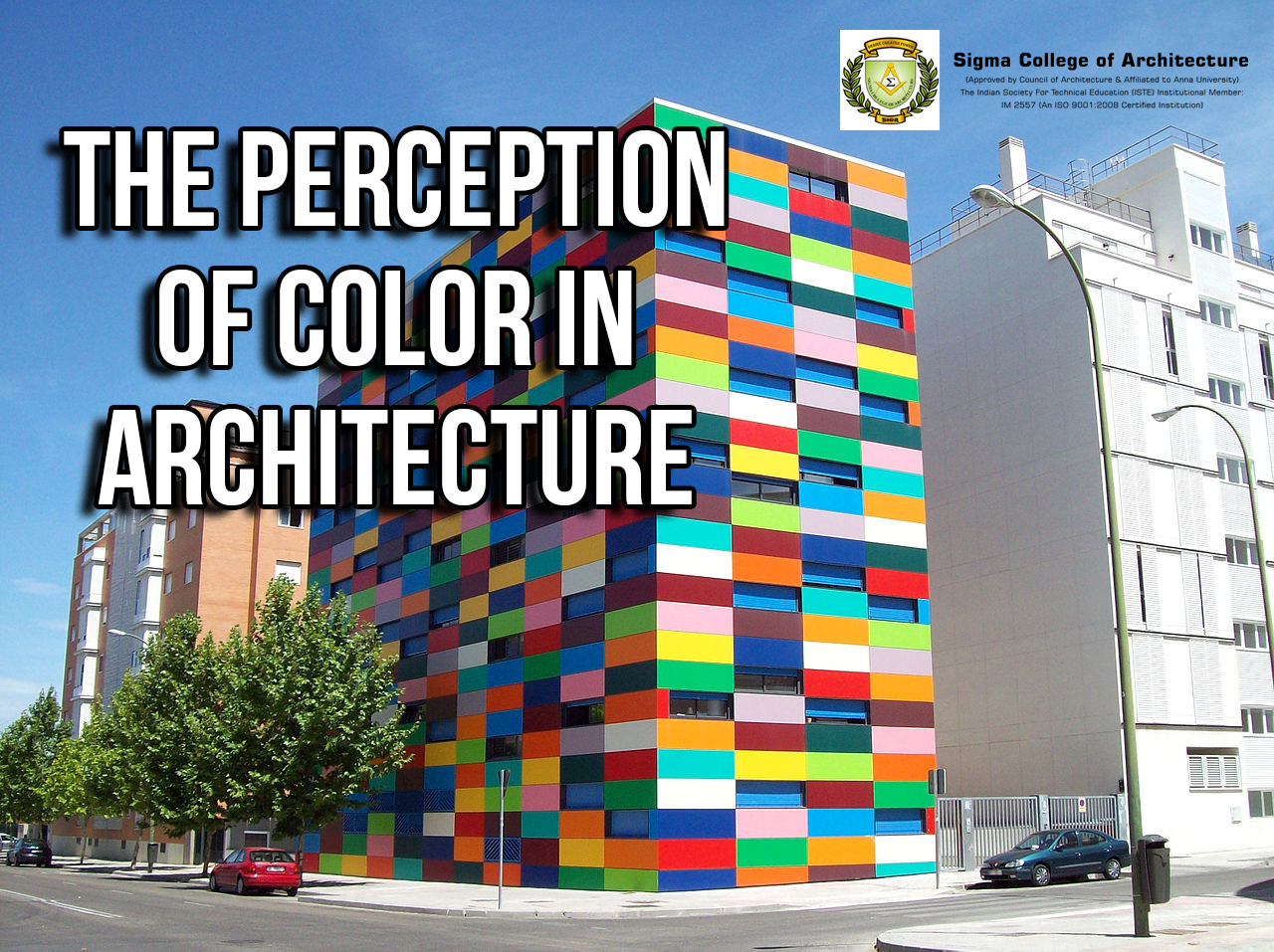 The Perception of Color in Architecture