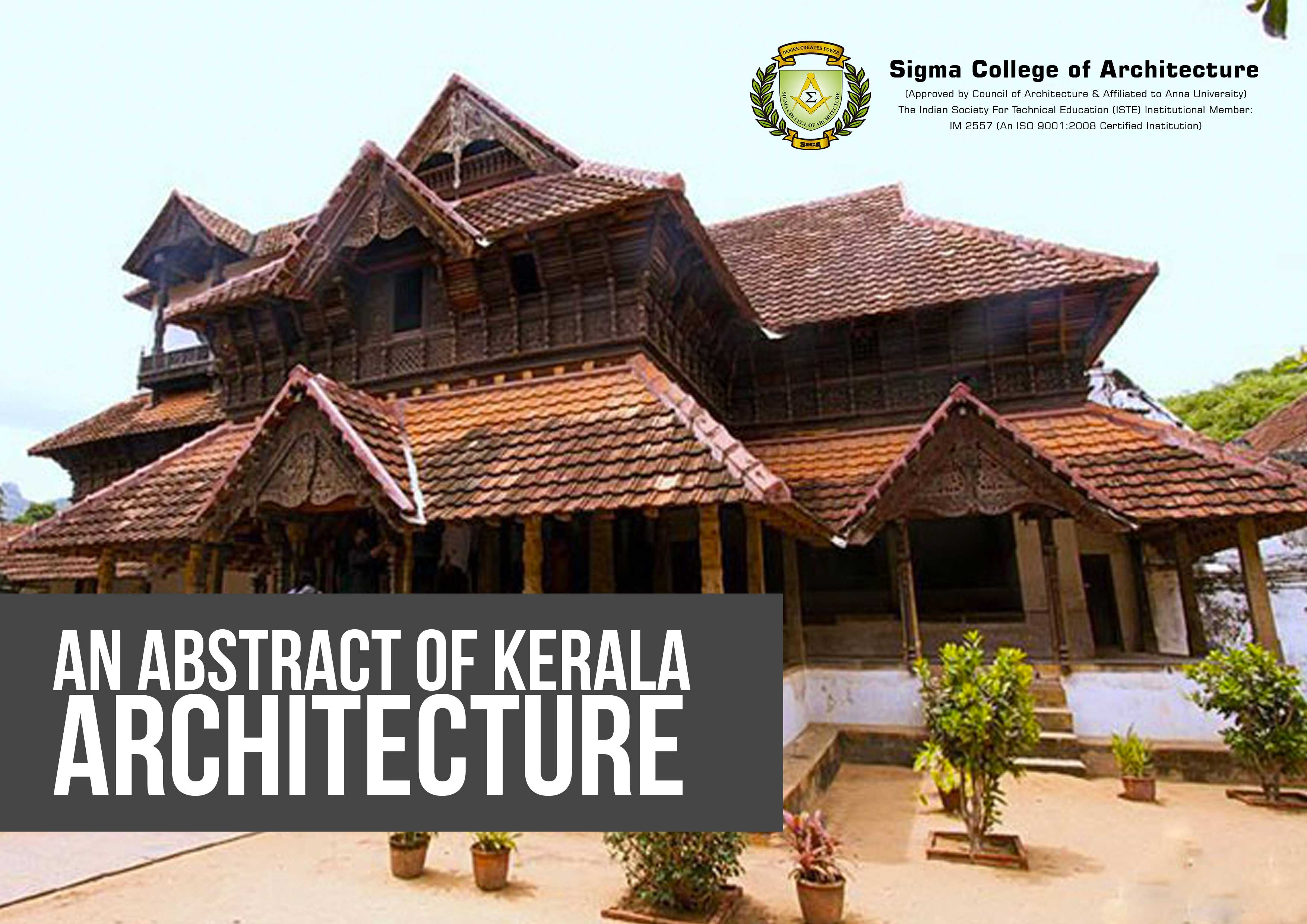 An Abstract of Kerala Architecture