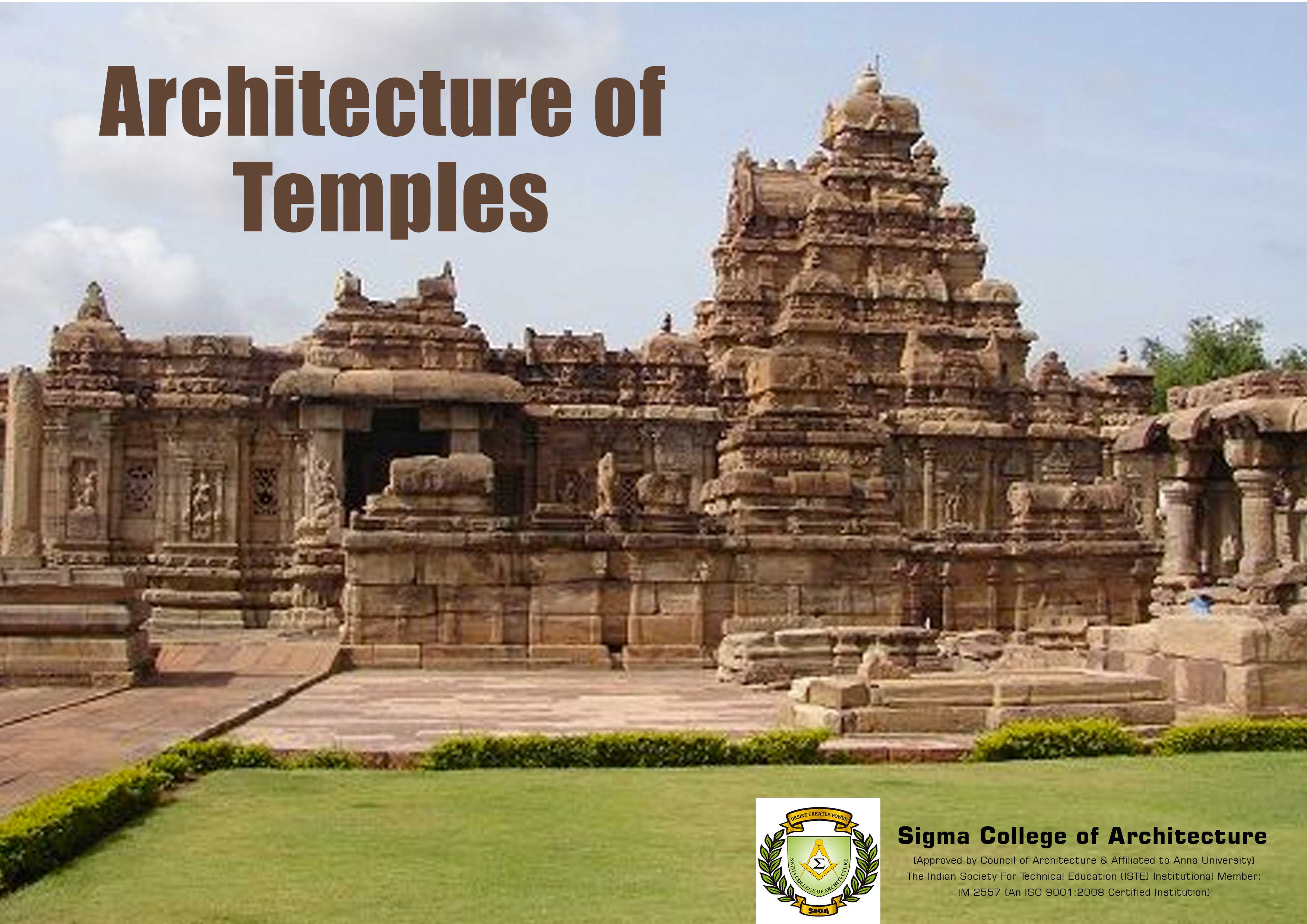Architecture of Temples