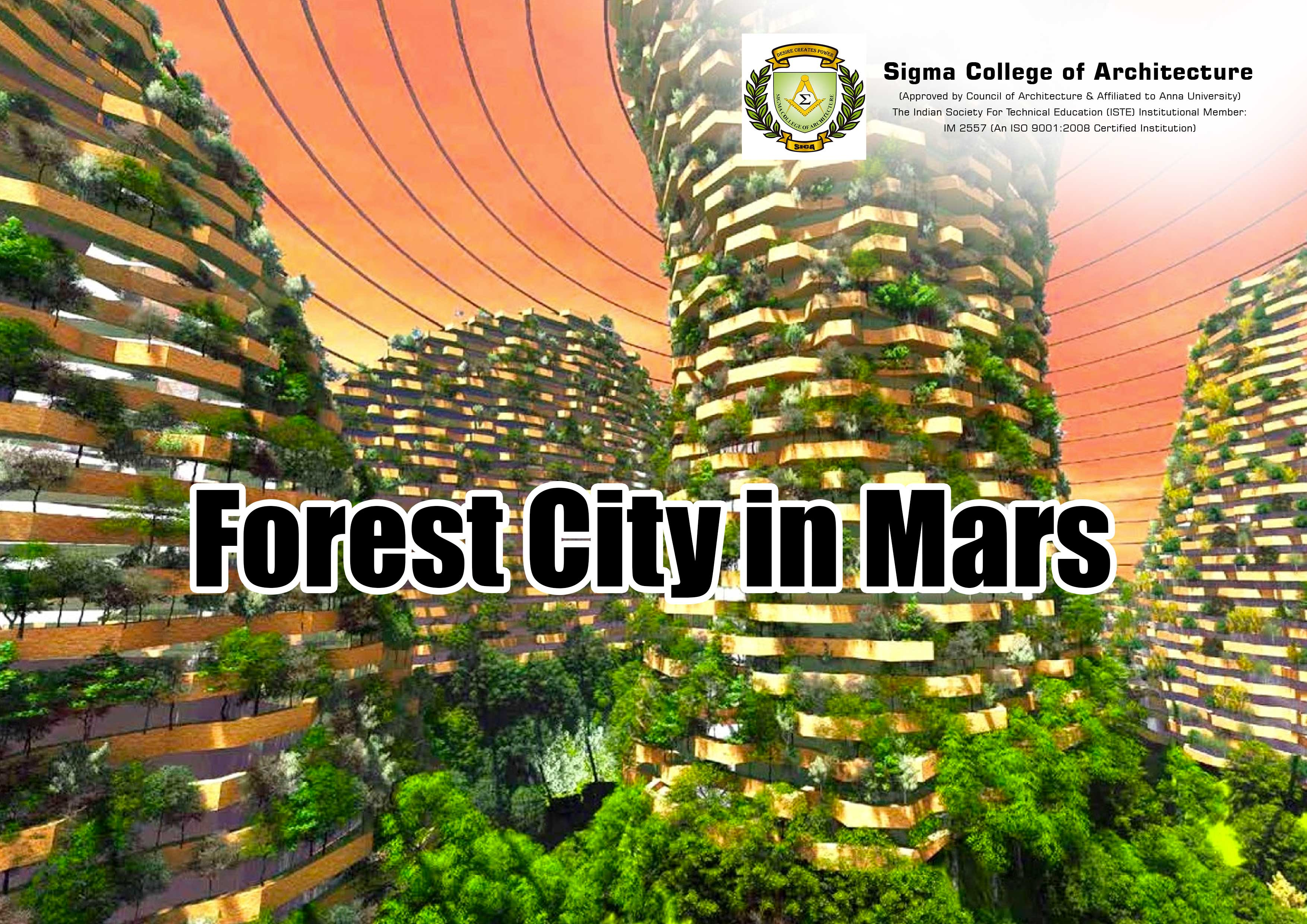Forest City in Mars