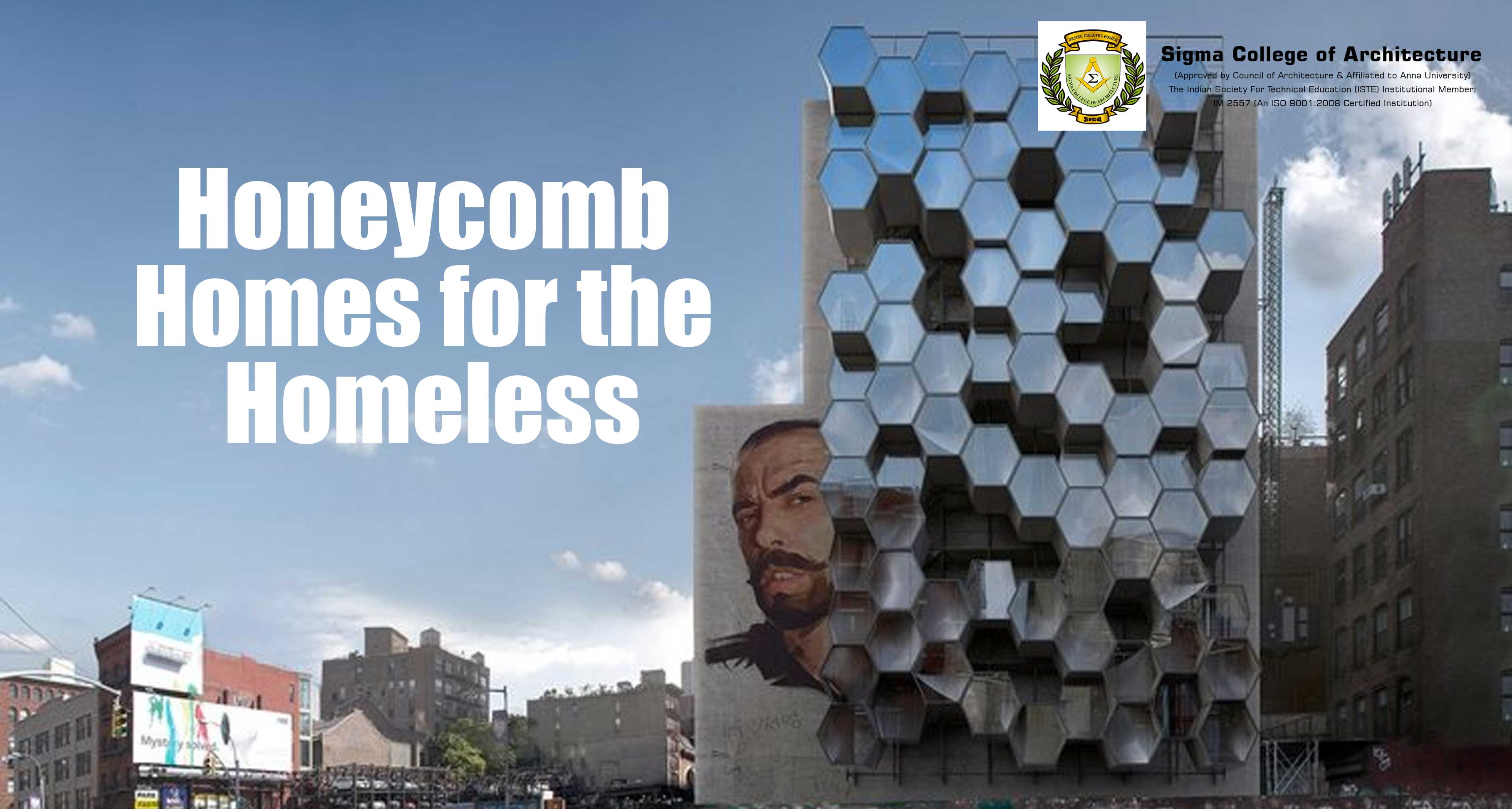 Honeycomb Homes for the Homeless
