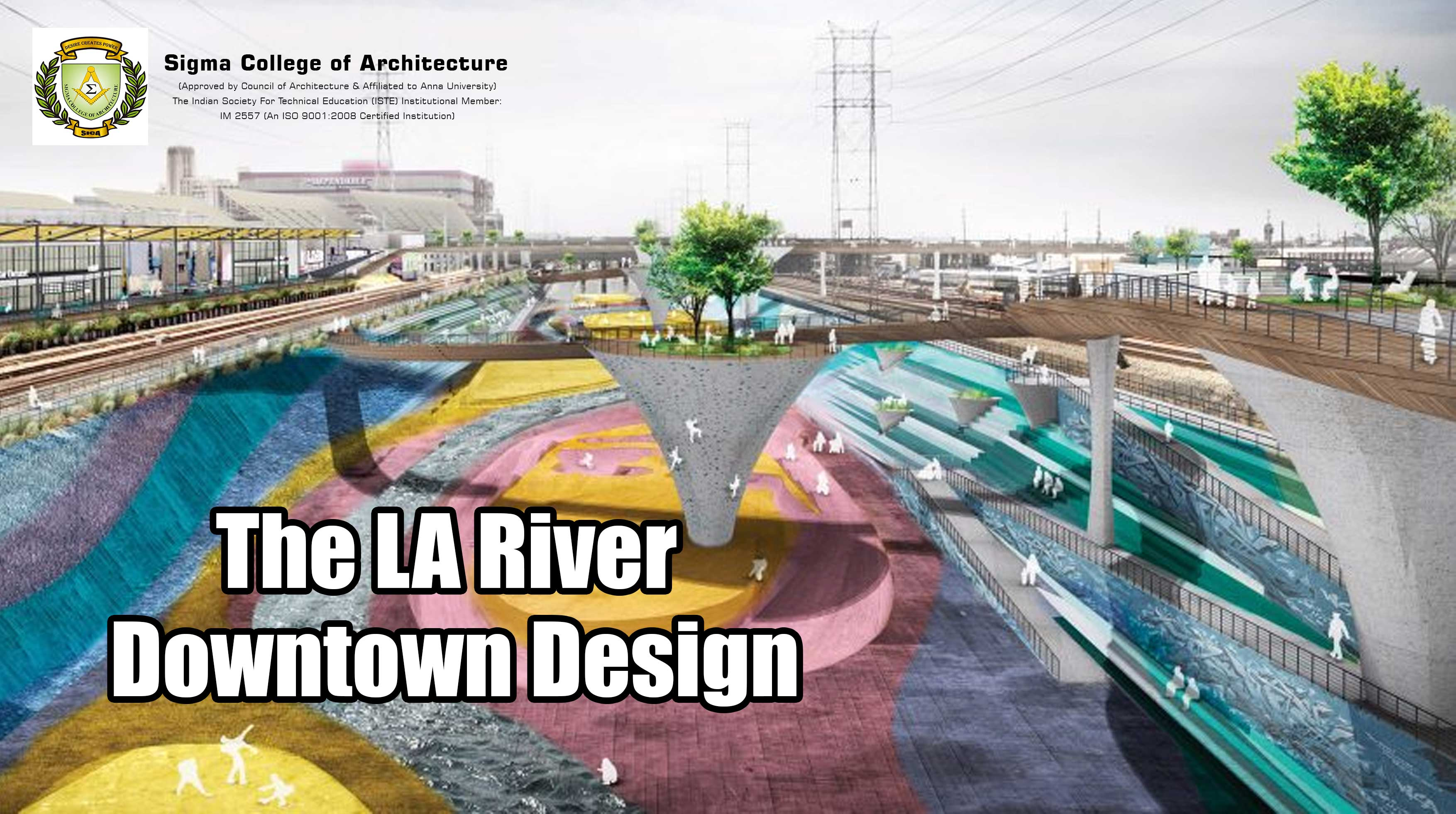 The LA River Downtown Design