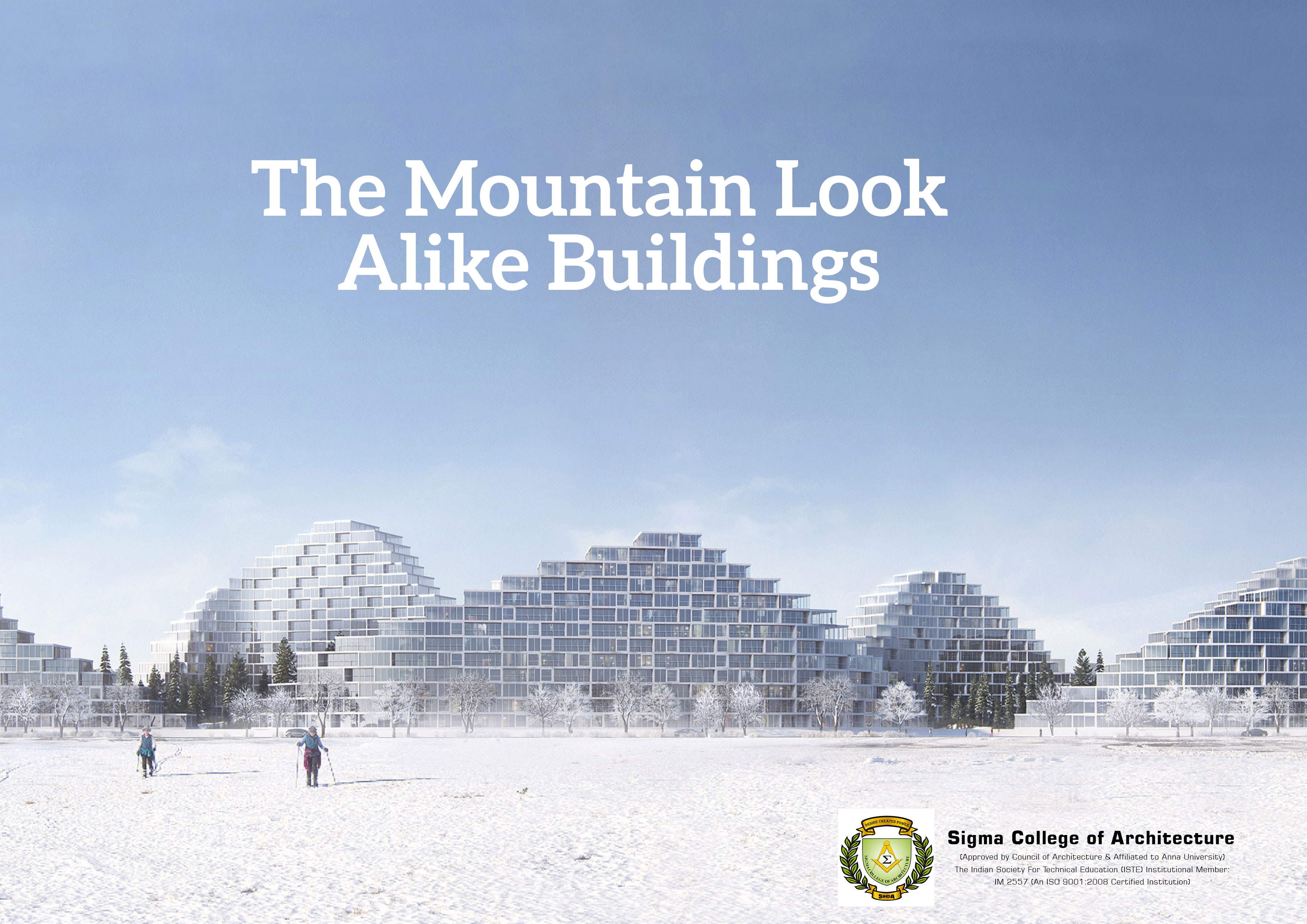 The Mountain Look Alike Buildings
