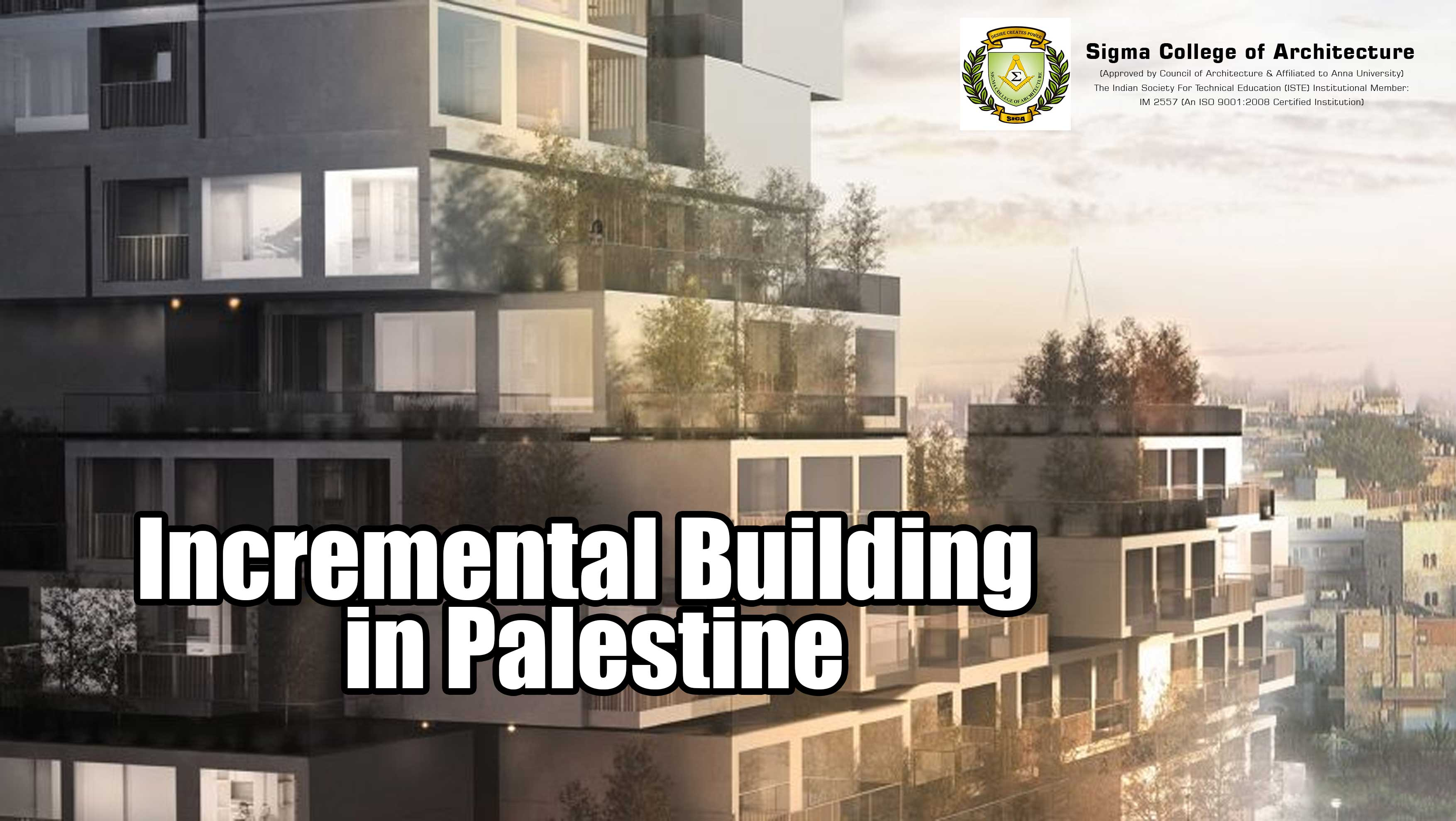 Incremental Building in Palestine
