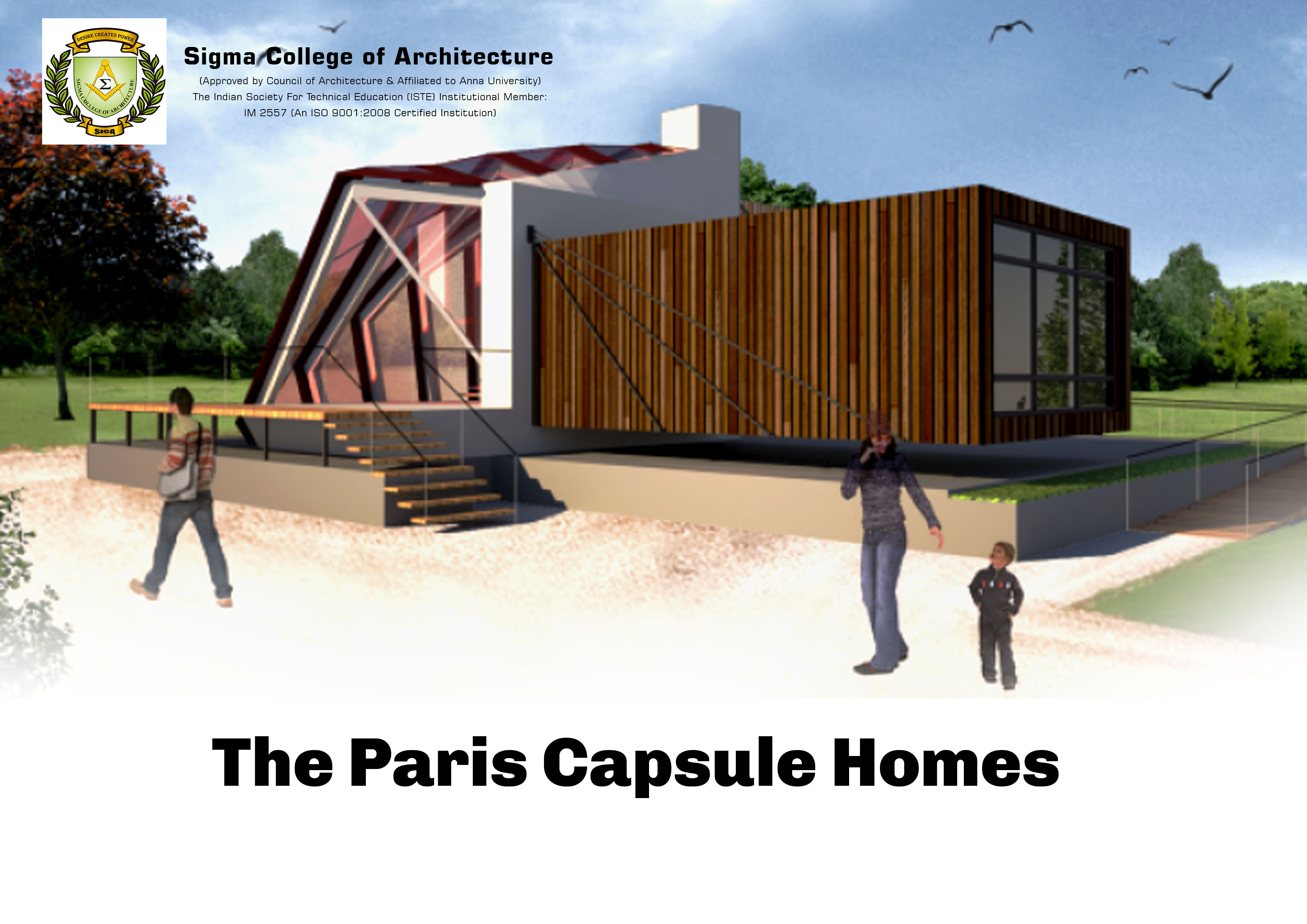 The Paris Capsule Homes