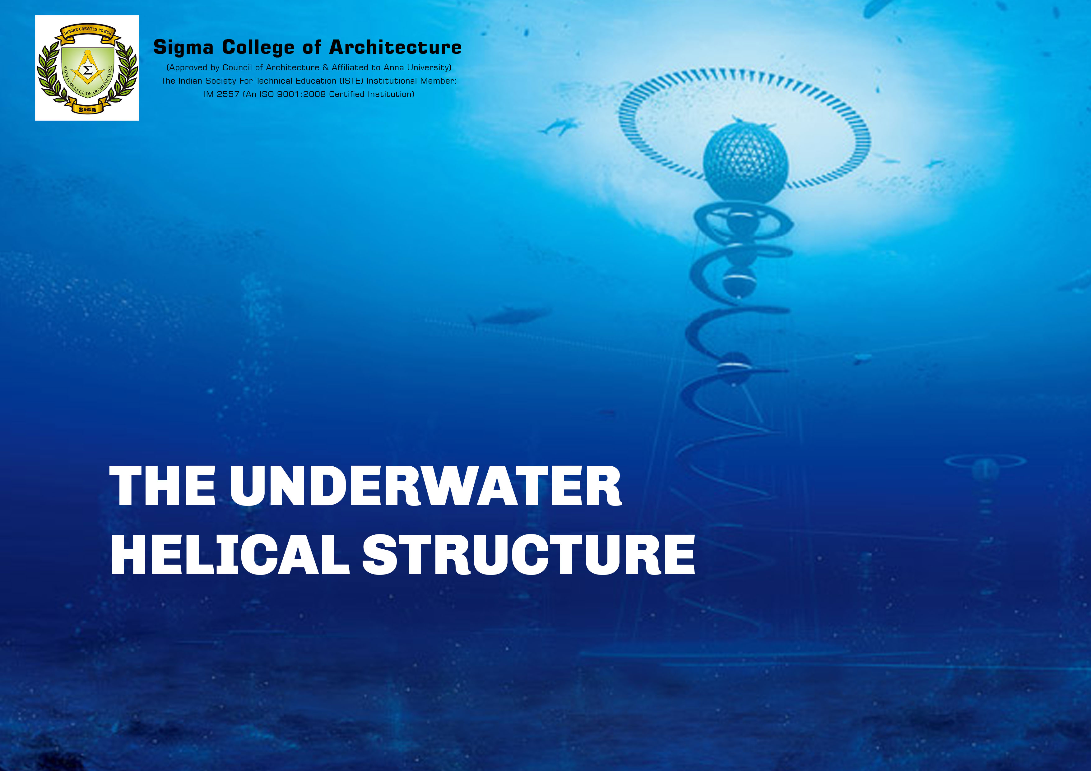 The Underwater Helical Structure