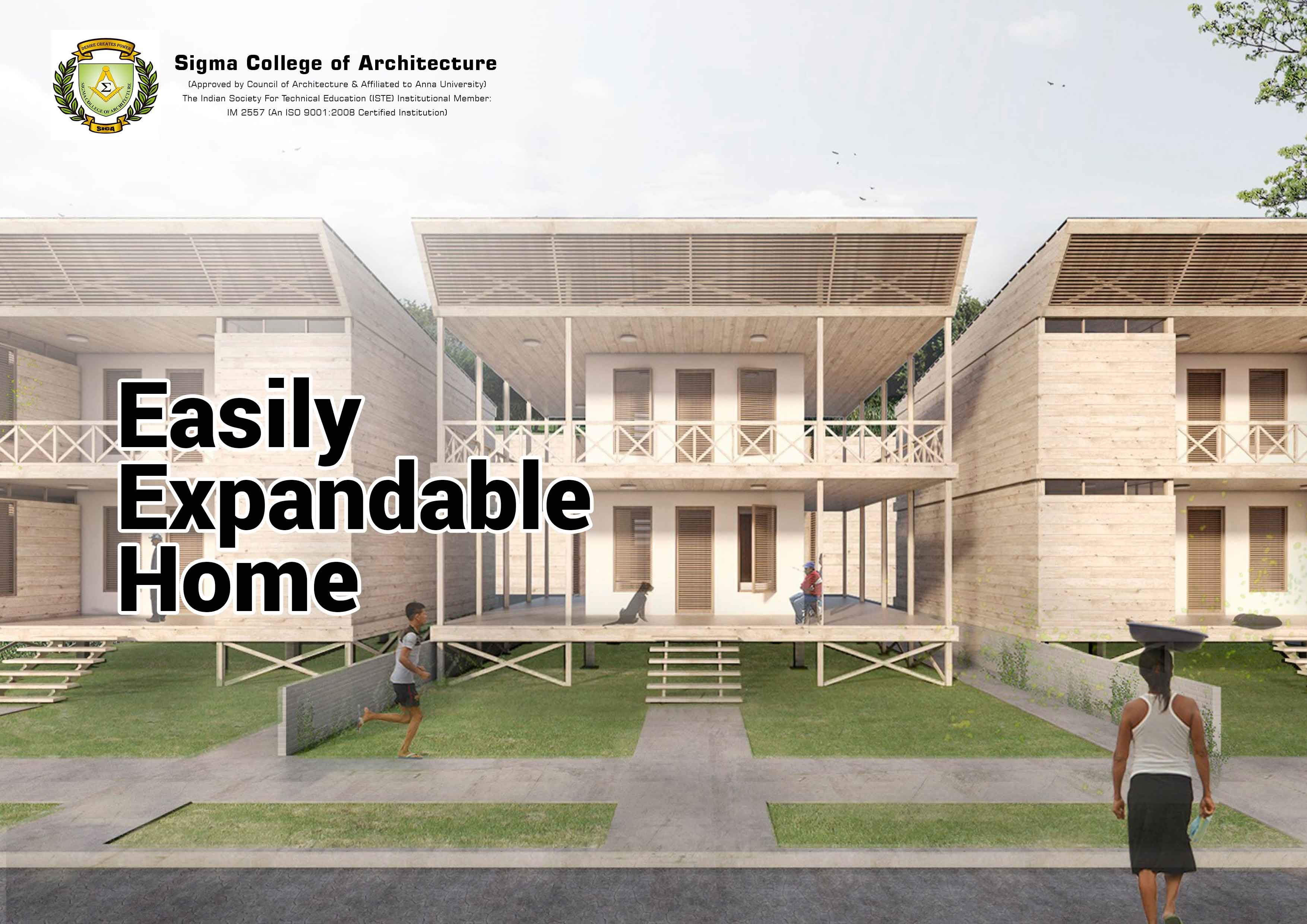 Easily Expandable Home
