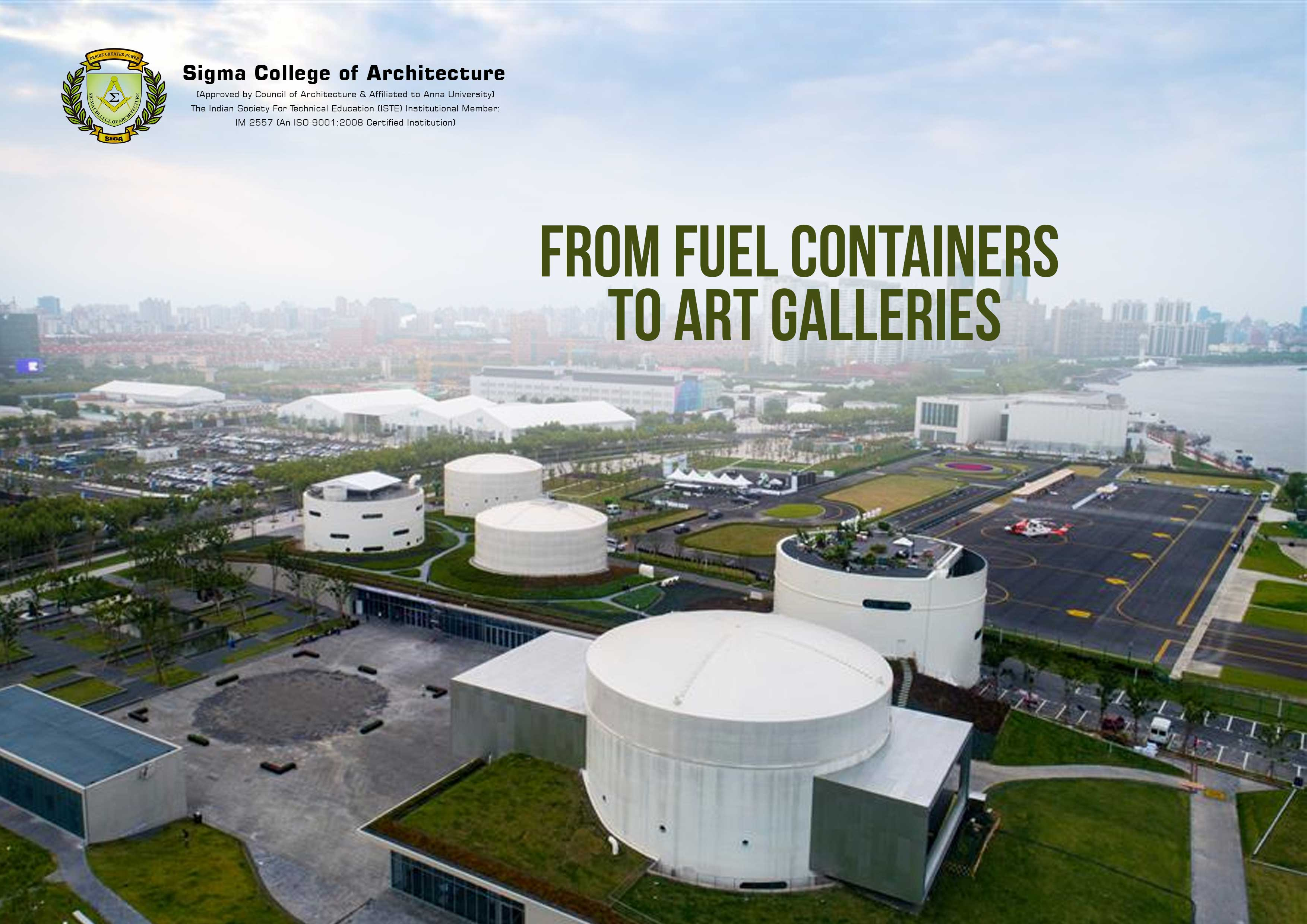 From Fuel Containers to Art Galleries