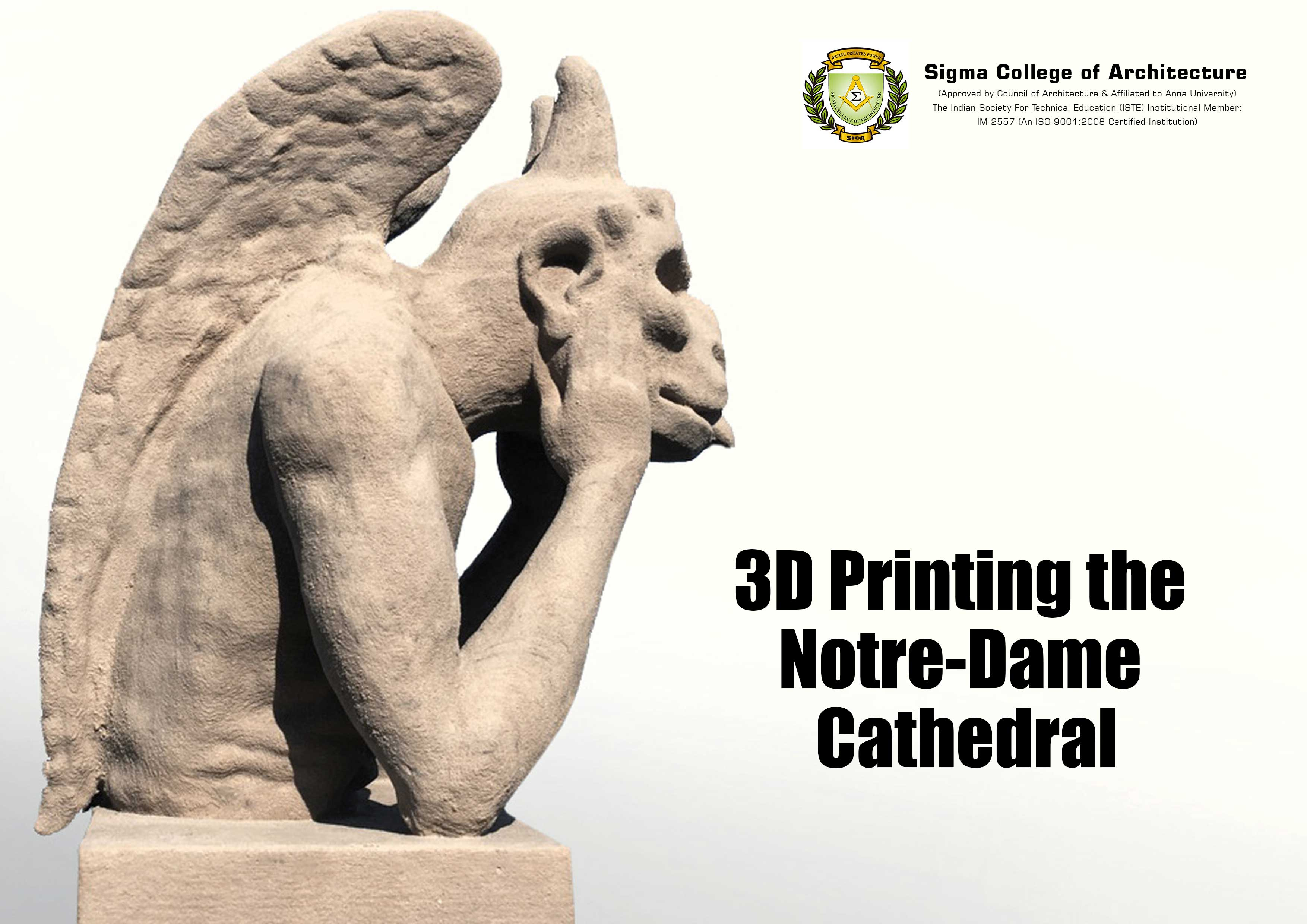 3D Printing the Notre-Dame Cathedral
