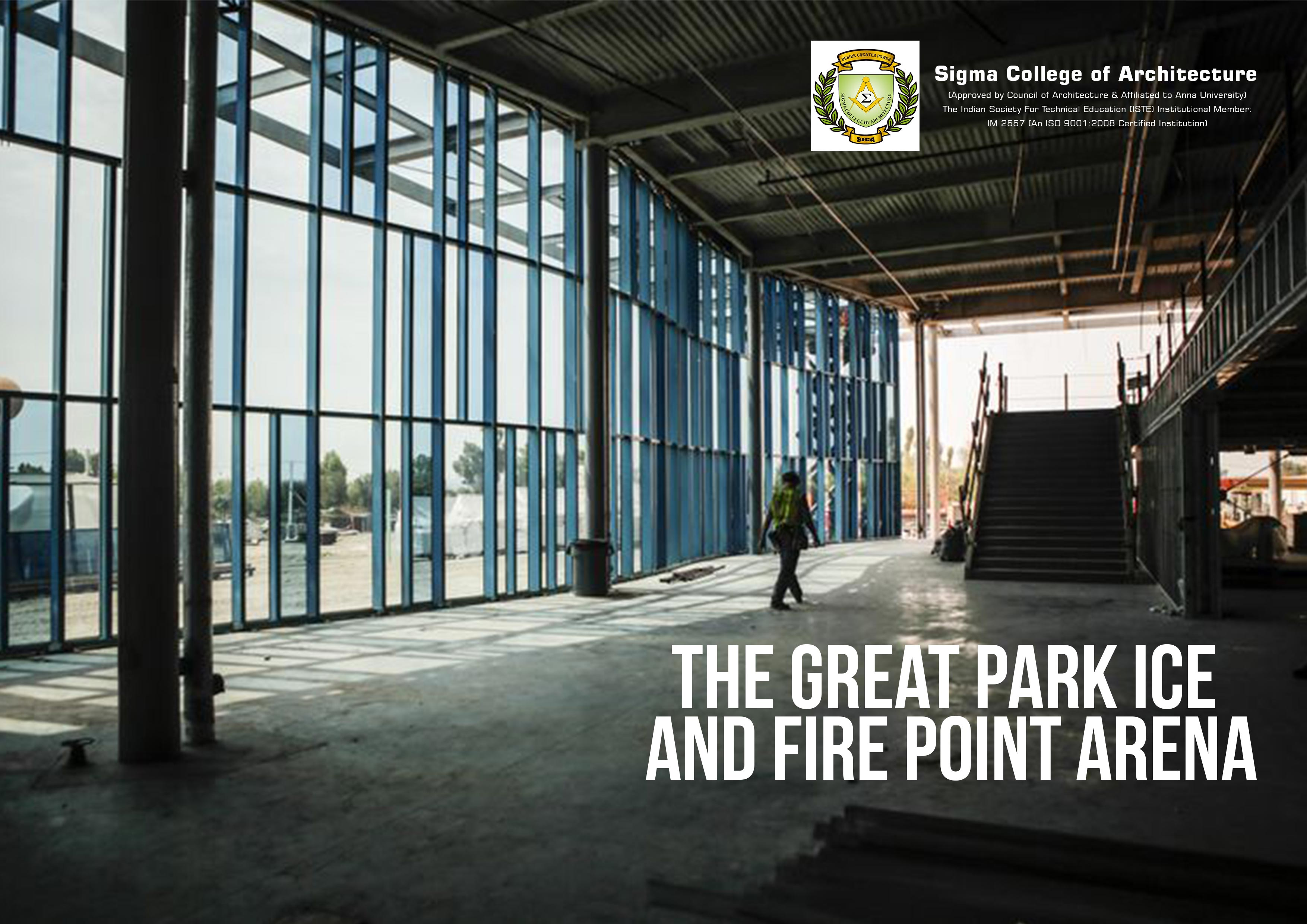 The Great Park Ice and Fire Point Arena