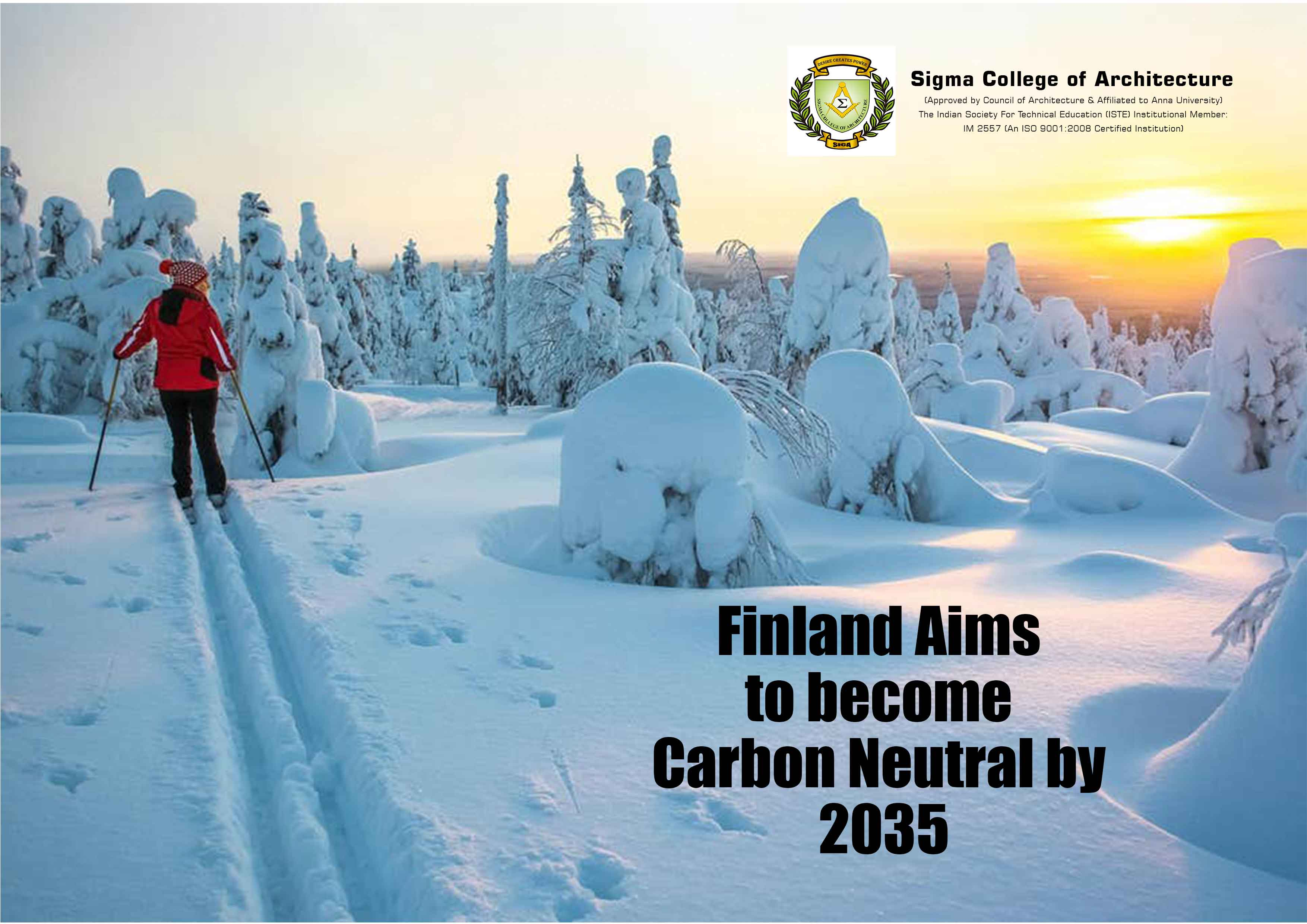 Finland Aims to become Carbon Neutral by 2035