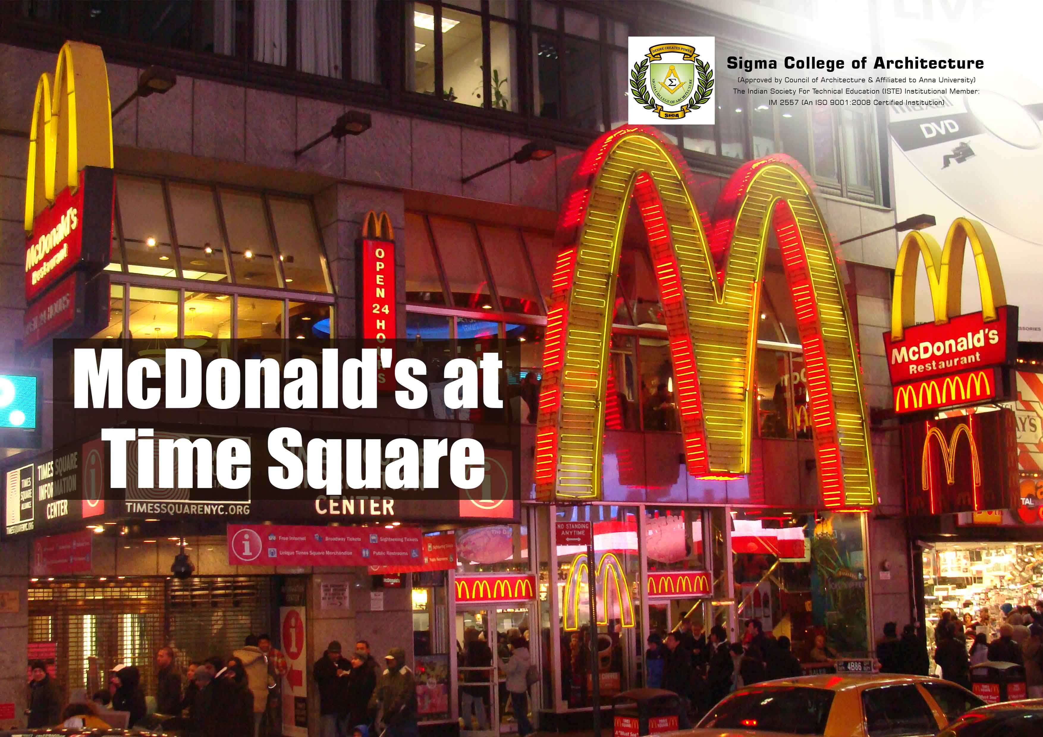 McDonald's at Time Square