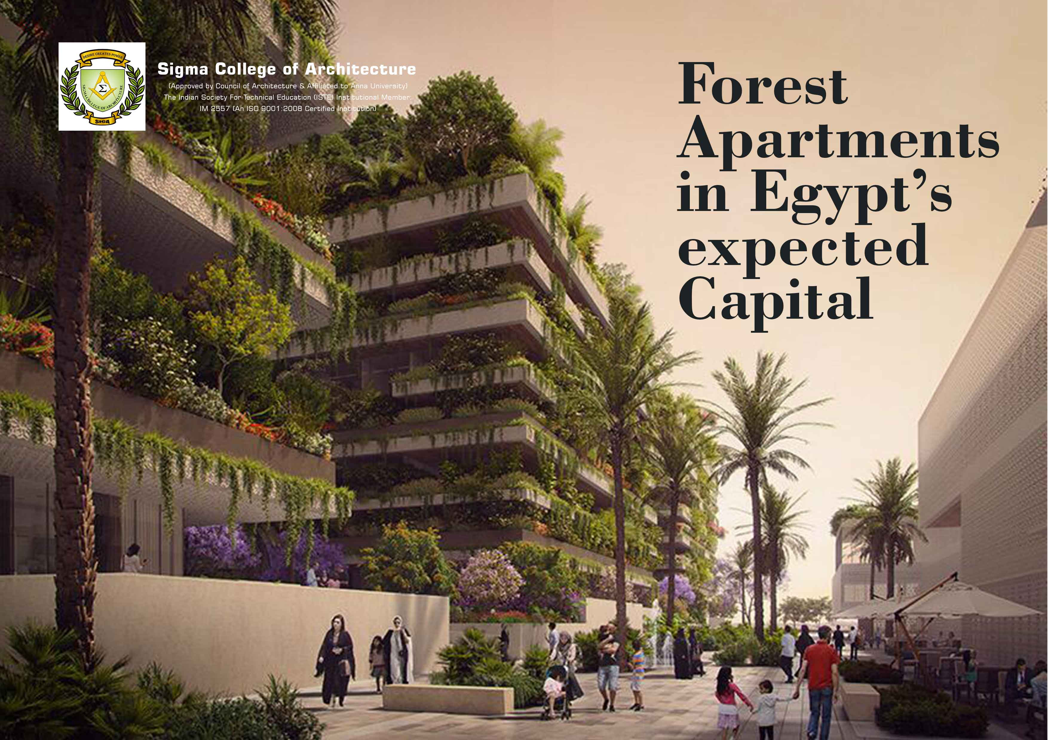 Forest Apartments in Egypt's expected Capital
