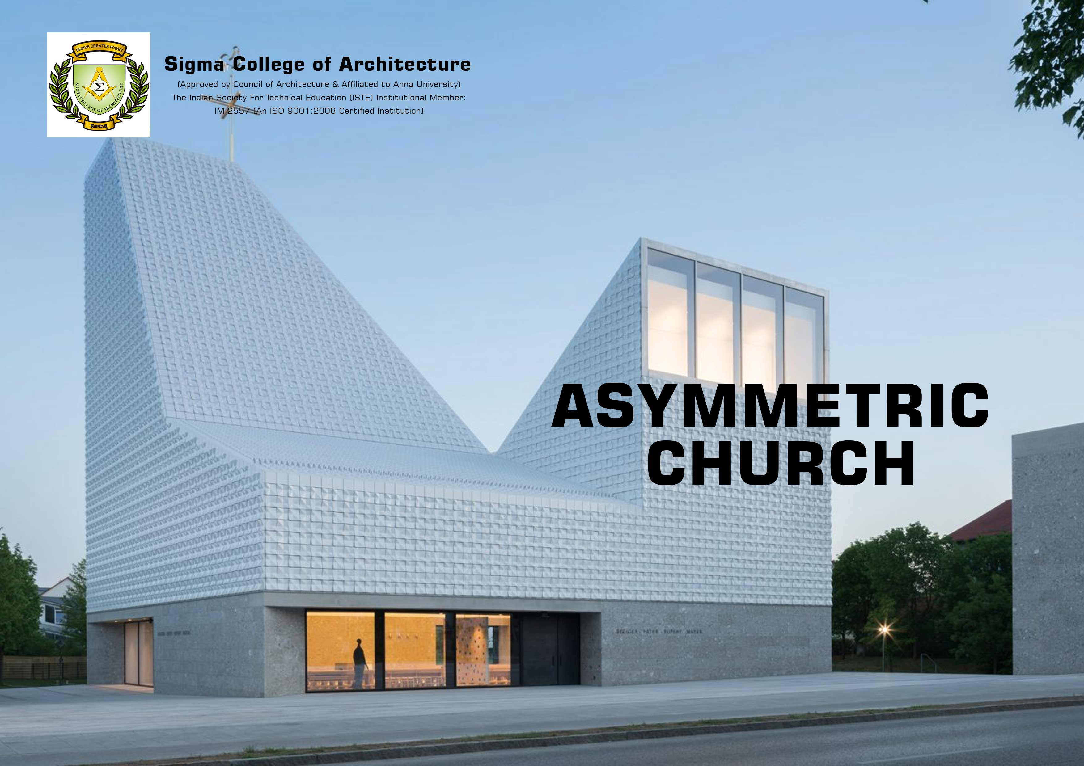Asymmetric Church