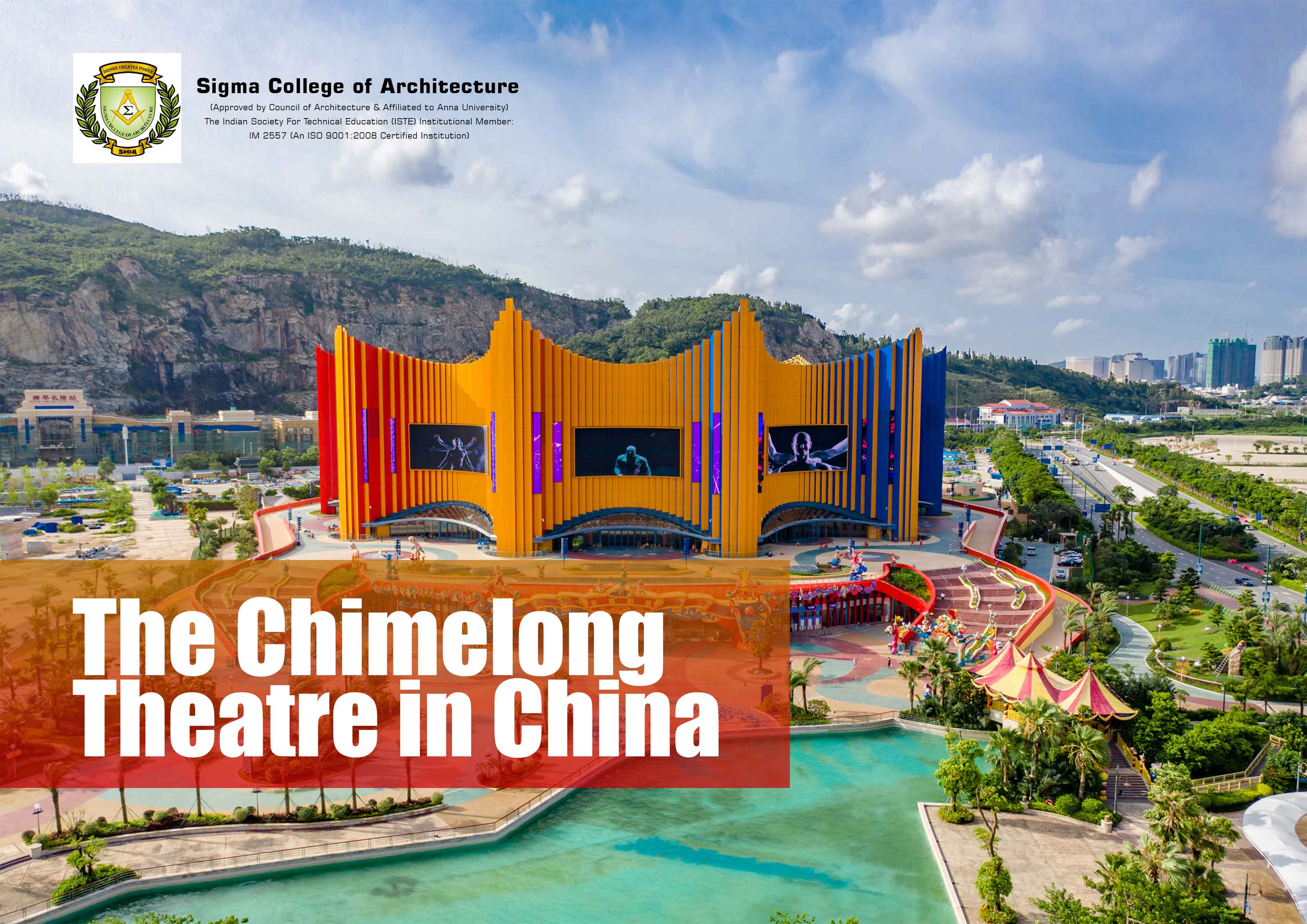 The Chimelong Theatre in China