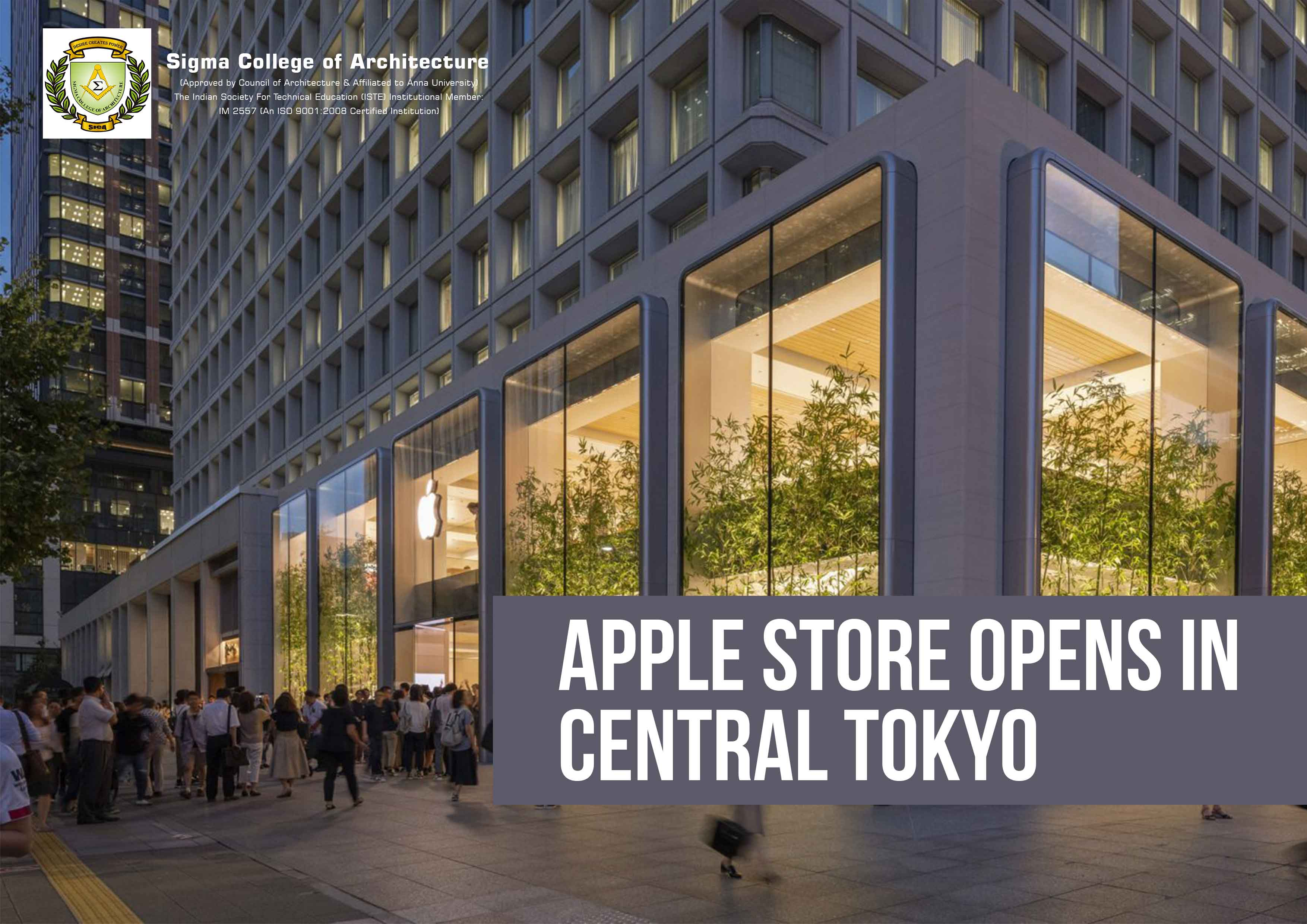 Apple Store Opens in Central Tokyo