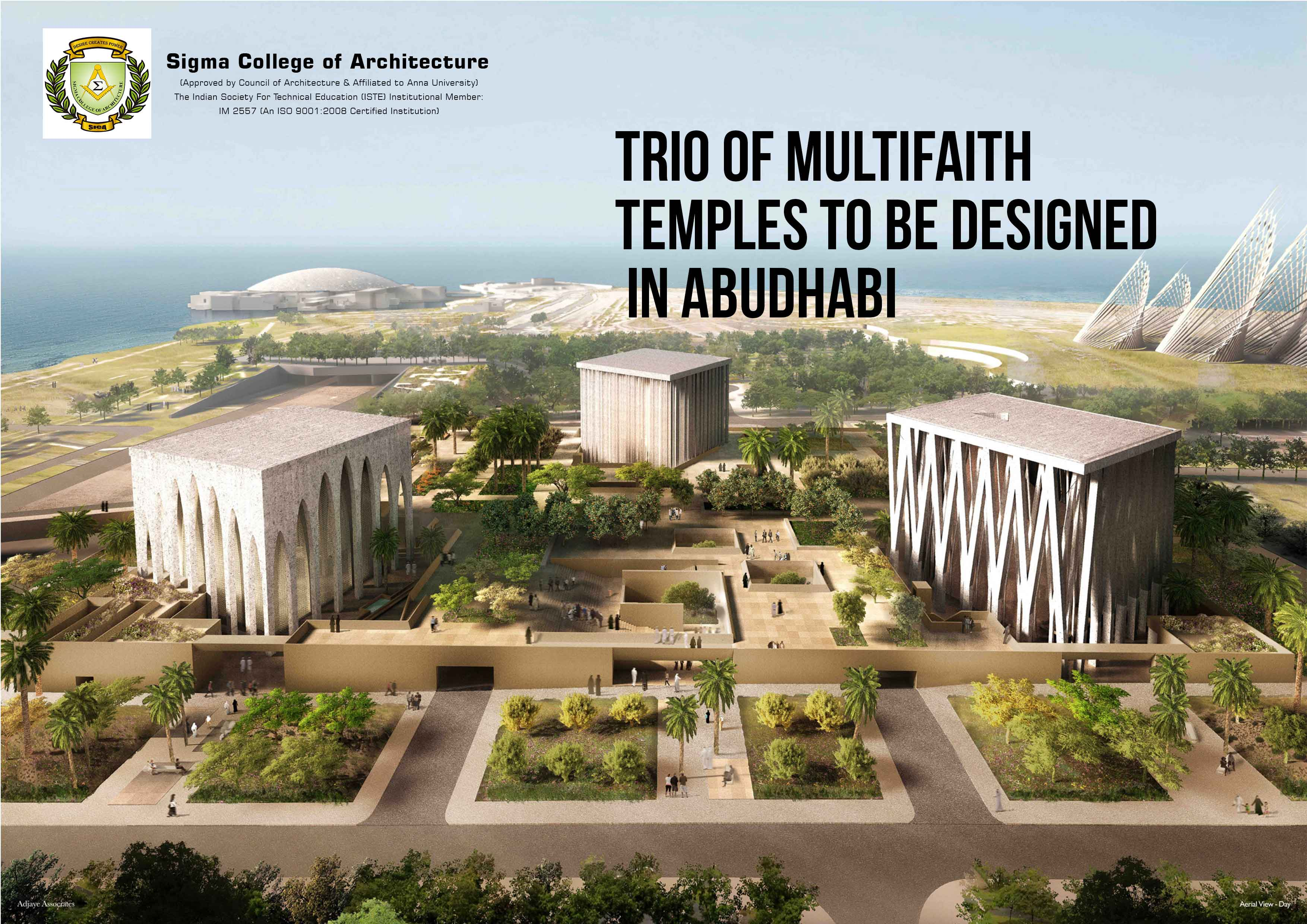 Trio Of Multifaith Temples To Be Designed In Abu Dhabi