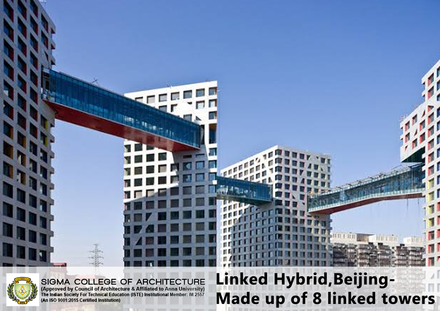 Linked Hybrid,Beijing- Made up of 8 linked towers