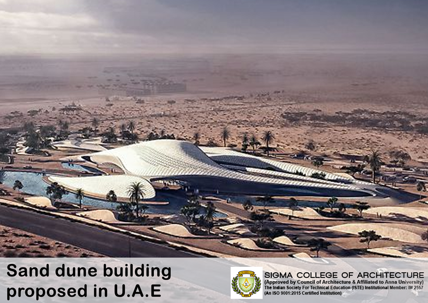 Sand dune building proposed in U.A.E
