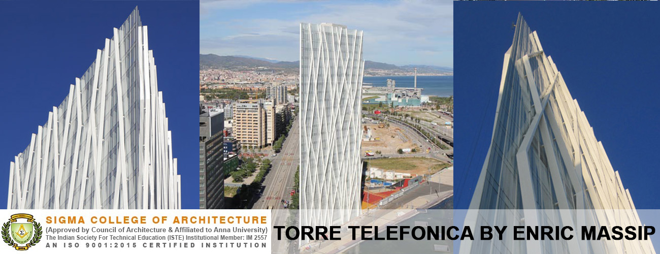 Torre Telefonica By Enric Massip