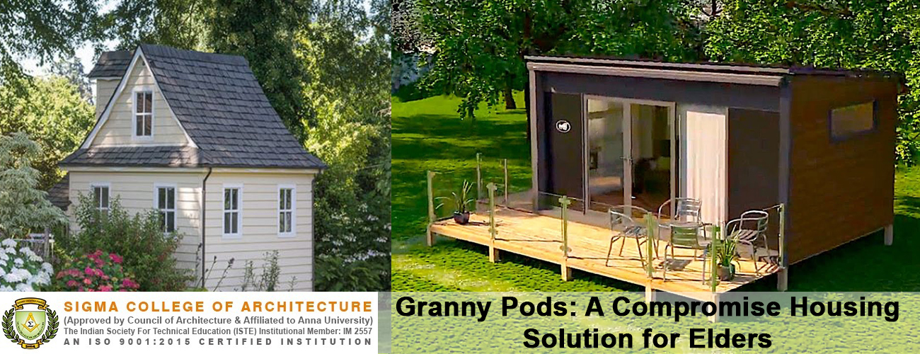 Granny Pods: A Compromise Housing Solution for Elders