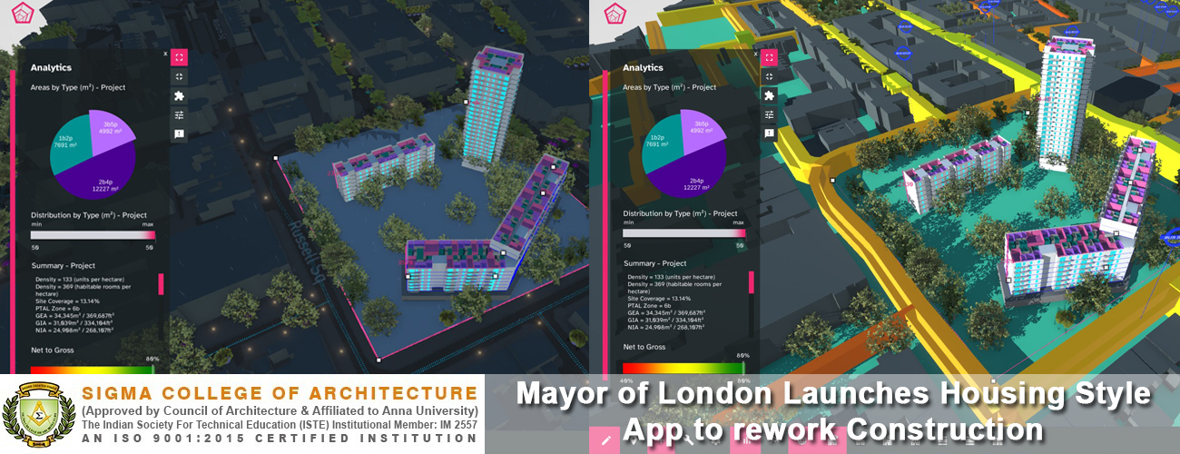 Mayor of London Launches Housing Style App to rework Construction