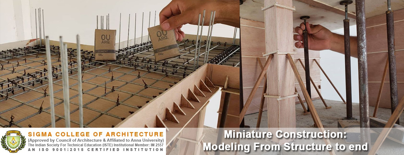 Miniature Construction: Modeling From Structure to end