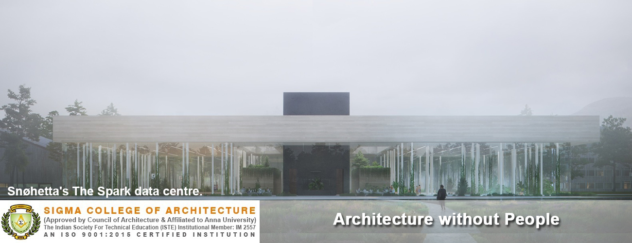 Architecture without People
