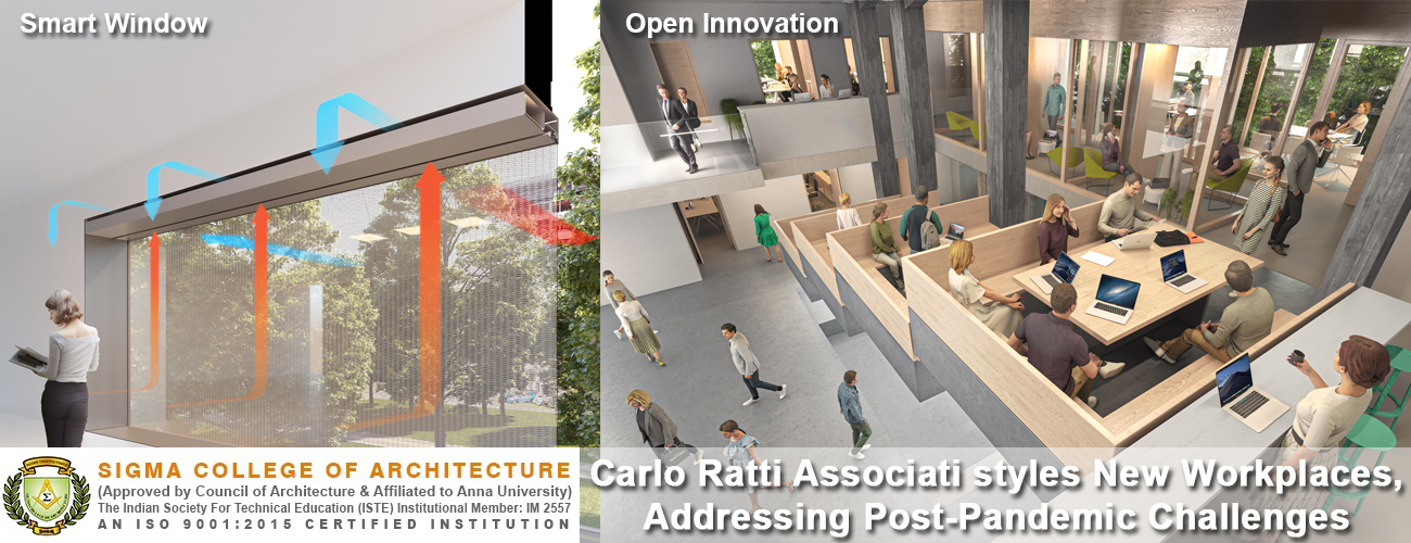 Carlo Ratti Associati styles New Workplaces, Addressing Post-Pandemic Challenges