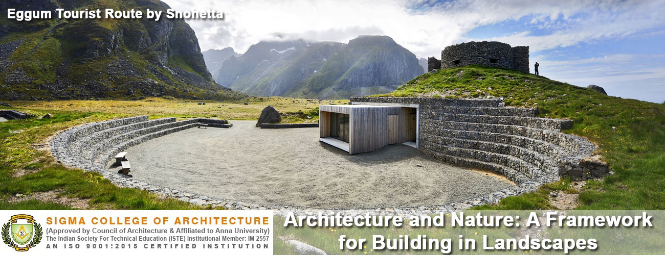 Architecture and Nature: A Framework for Building in Landscapes