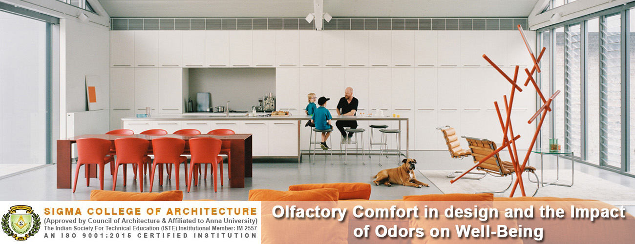 Olfactory Comfort in design and the Impact of Odors on Well-Being