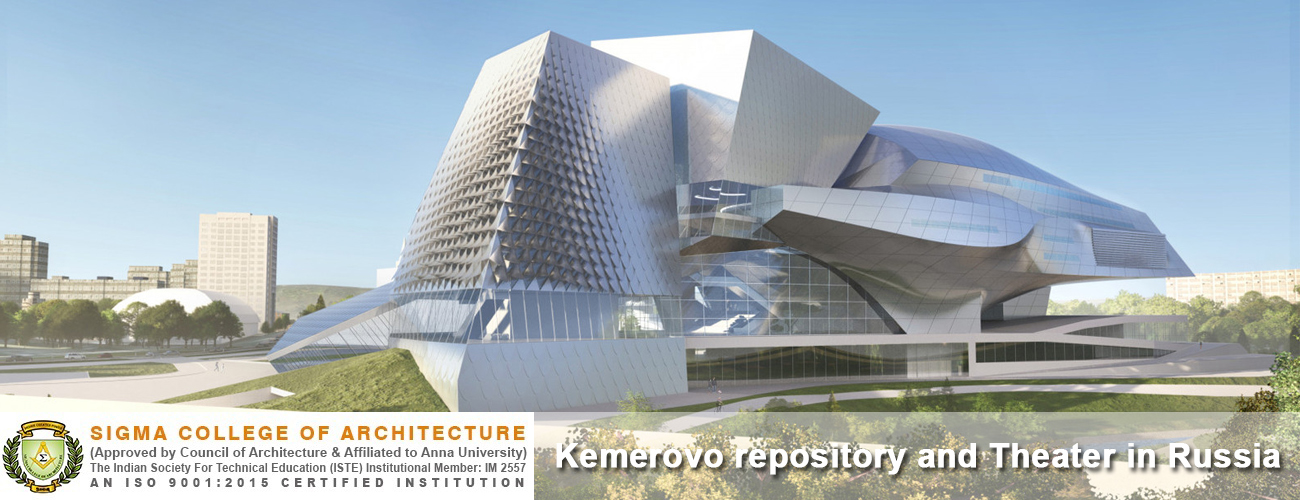 Kemerovo repository and Theater in Russia