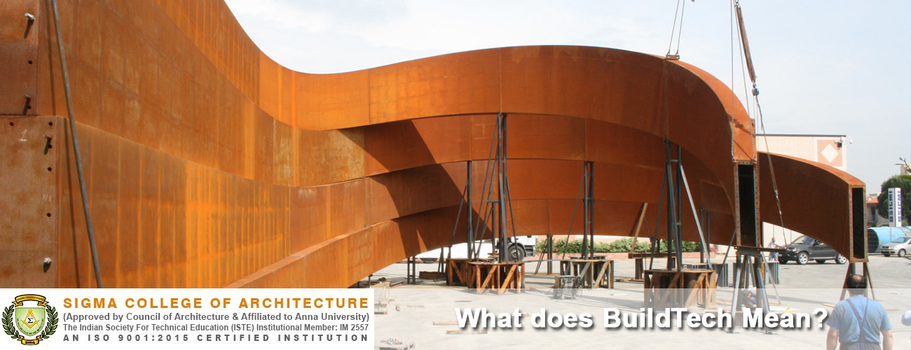What does BuildTech Mean?