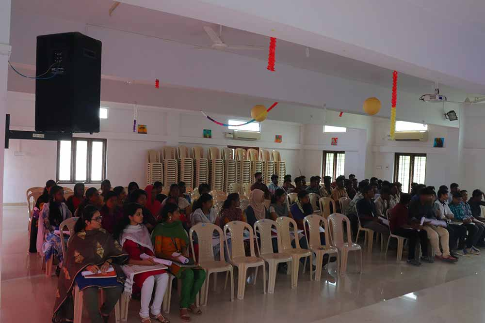 Workshop by Ar. T M Cyriac, Founder of Environmental Creations, Kerala