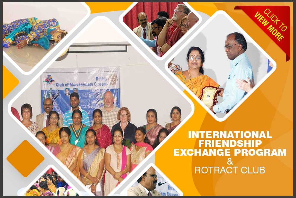 INTERNATIONAL FRIENDSHIP EXCHANGE PROGRAM & ROTRACT CLUB, SIGMA COLLEGE OF ARCHITECTURE